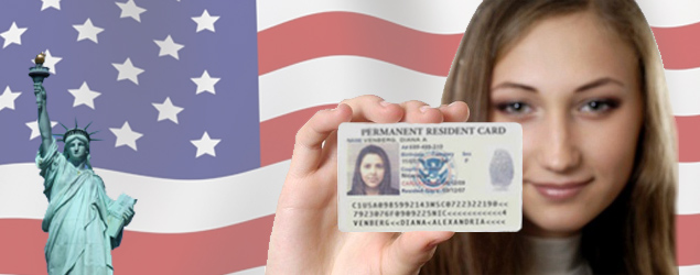 Green card - permanent residence in US