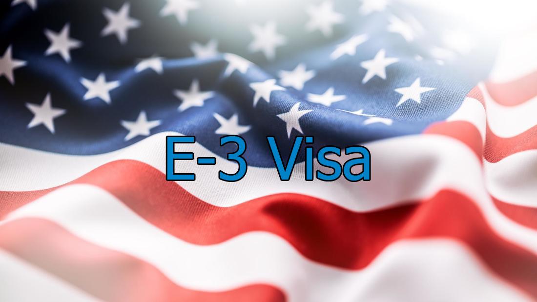 e-3 visa lawyer in Houston. US visa for Australians